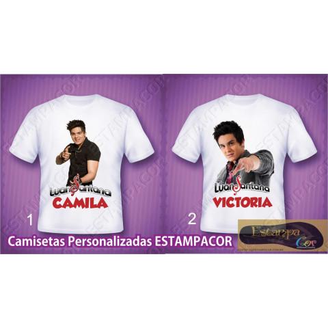 Camiseta Personalizada Luan Santana