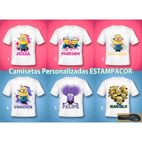 Camiseta Personalizada Minions