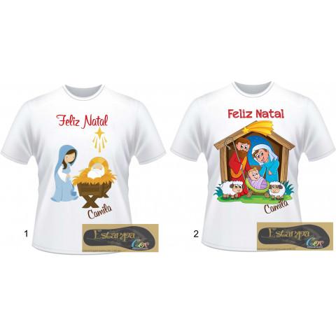 Camiseta Personalizada Presépio Natal