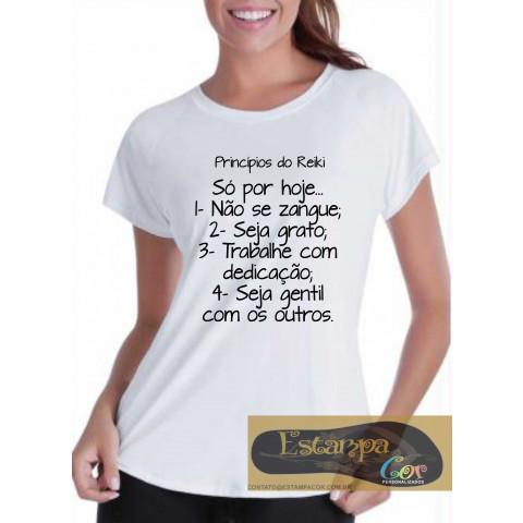 Camiseta Personalizada Princípios do Reiki