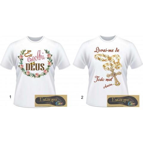 Camiseta Personalizada Religiosas II