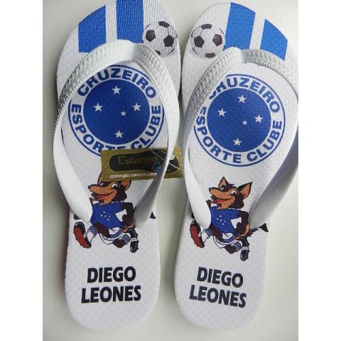 Chinelo Personalizado Cruzeiro