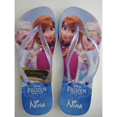 Chinelo Personalizado Frozen I
