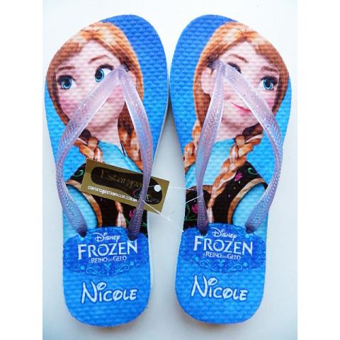 Chinelo Personalizado Frozen II