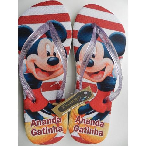 Chinelo Personalizado Mickey