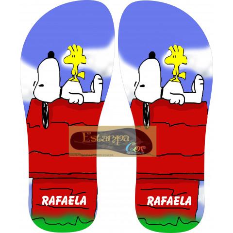 Chinelo Personalizado Snoopy