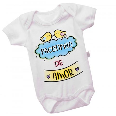 Body Personalizado Pacotinho De Amor