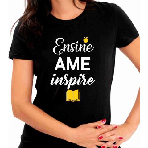 Camiseta Ensine Ame Inspire