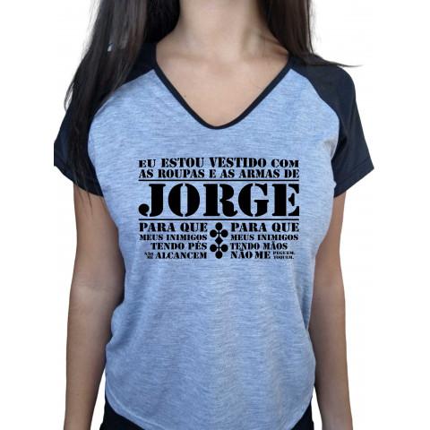 Camiseta Oração São Jorge