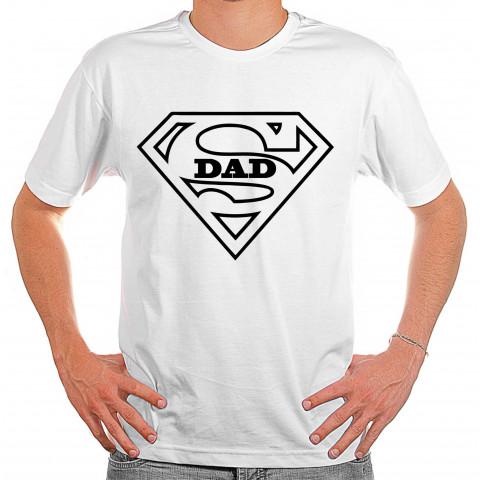 Camiseta Super Dad Presente de Dia Dos Pais