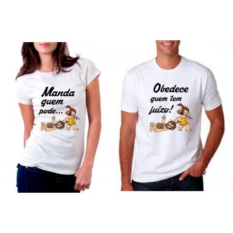 Camiseta Personalizada Manda Quem Pode Obedece Quem Tem Juízo