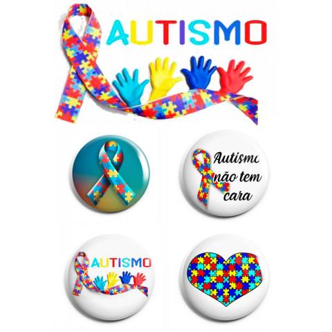 Boton personalizado autismo