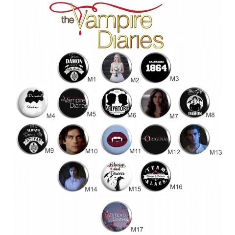 Botton The Vampire Diaries