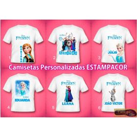 Camiseta Personalizada Frozen