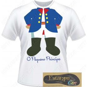 Camiseta Personalizada Pequeno Príncipe