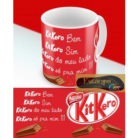 Caneca Personalizada KitKero