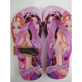 Chinelo Personalizado Barbie 1