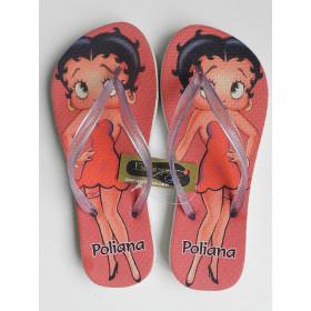 Chinelo Personalizado Betty Boop II
