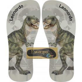Chinelo Personalizado Dinossauros