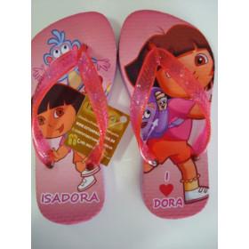 Chinelo Personalizado Dora Aventureira