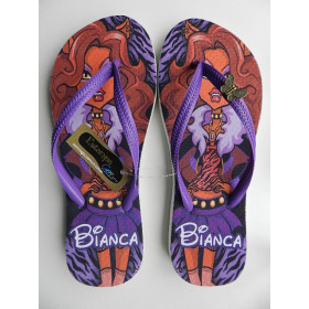 Chinelo Personalizado Monster Clawdeen