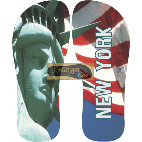 Chinelo Personalizado New York