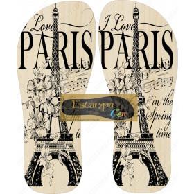 Chinelo Personalizado Paris III