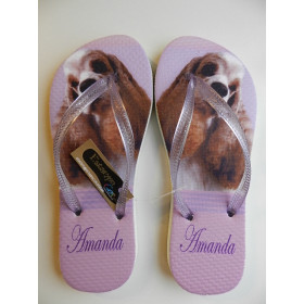 Chinelo Personalizado PET's Cocker