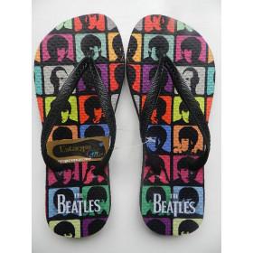 Chinelo Personalizado The Beatles