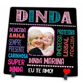 Azulejo Personalizado com Foto da Dinda
