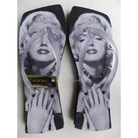 Rasteirinha Personalizada Marilyn Monroe