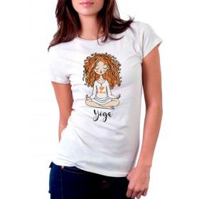 Camiseta Personalizada Yoga