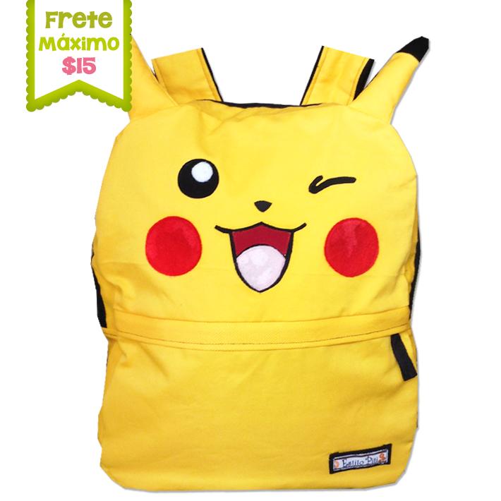 Mochila Pikachu