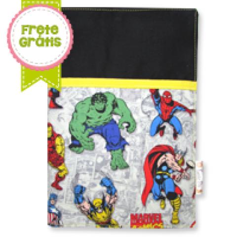 Capa para Caderneta Heróis
