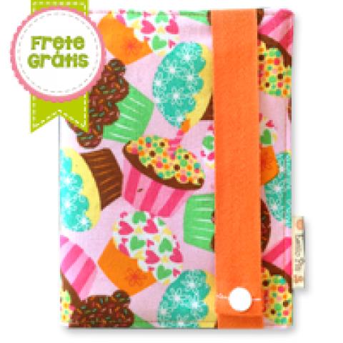 Porta Documentos Cupcakes