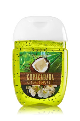 Anti-Bacterial Pocketbac Sanitizing Hand Gel Bath & Body Copacabana Coconut