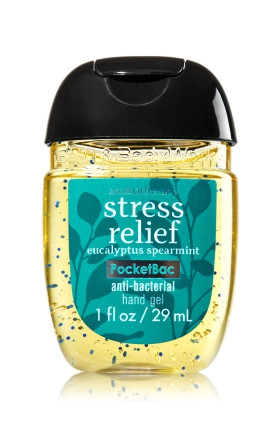 Anti-Bacterial Pocketbac Sanitizing Hand Gel Bath & Body Stress Relief - Eucalyptus Spearmint