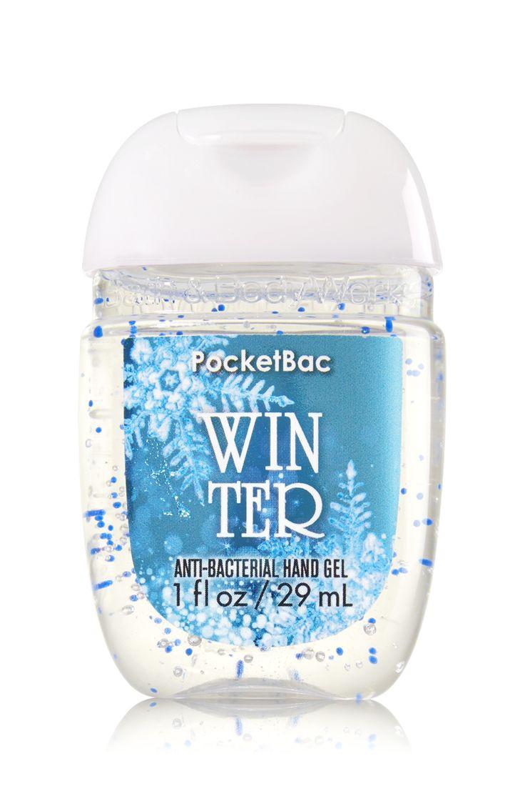 Anti-Bacterial Pocketbac Sanitizing Hand Gel Bath & Body Works Winter