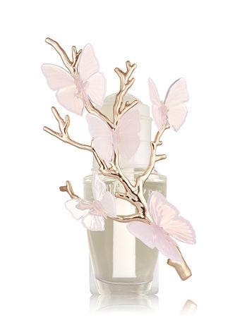 Aparelho Elétrico Aromatizador de Ambiente Bath Body Works Wallflowers Plug Borboletas Rosa