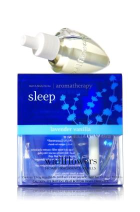 ESSÊNCIA Bath & Body Works Aromatizador de Ambiente Wallflowers 2-Pack Refills Aromatherapy Lavender Vanilla