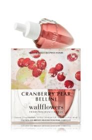 ESSÊNCIA Bath & Body Works Wallflowers 2-Pack Refill Cranberry Pear Bellini