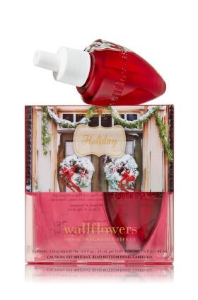 ESSÊNCIA Bath Body Works Wallflowers 2 Pack Refills Holiday