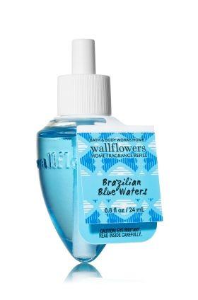 ESSÊNCIA Bath & Body Works Wallflowers Aromatizador de Ambiente Refil Brazilian Blue Waters