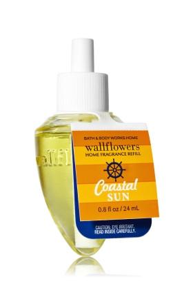 ESSÊNCIA Bath & Body Works Wallflowers Aromatizador de Ambiente Refil Coastal Sun