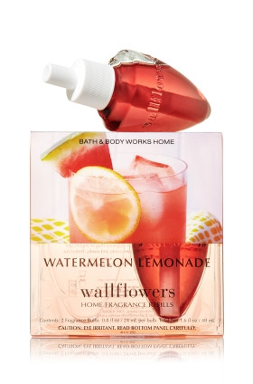 ESSÊNCIA Bath Body Works Wallflowers Bulb 2 Pack Refil Watermelon Lemonade