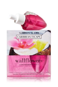 ESSÊNCIA Bath Body Works Wallflowers Bulb 2 Pack Refil Caribbean Escape
