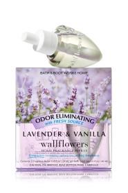 ESSÊNCIA Bath Body Works Wallflowers Bulb 2 Pack Refil Lavender Vanilla
