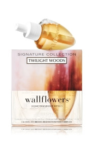 ESSÊNCIA Bath Body Works Wallflowers Bulb 2 Pack Refil Twilight Woods