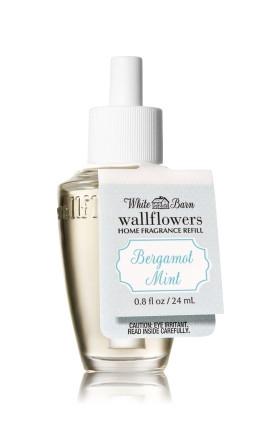 ESSÊNCIA Bath & Body Works Wallflowers Difusor Elétrico Aromatizador de Ambiente Refil Bulb Bergamot Mint