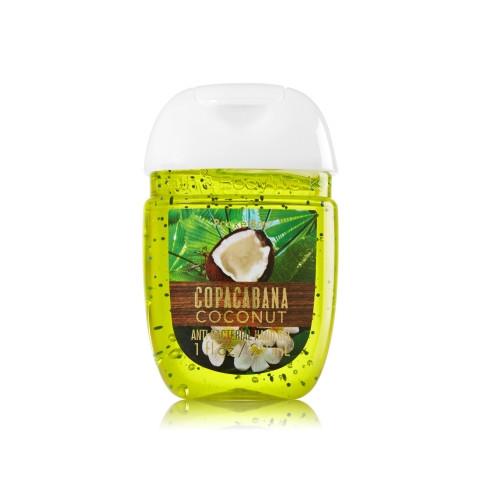 AntiBacterial PocketBac Gel Bath Body Works Copacabana Coconut